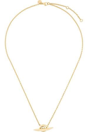 SHAUN LEANE Arc toggle bar necklace