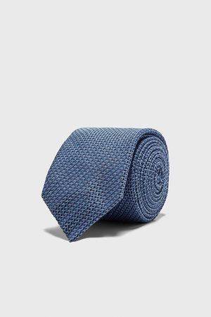 Zara Breite krawatte mit strukturmuster