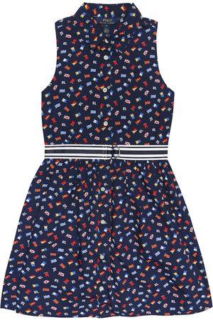 Ralph Lauren Bedrucktes Kleid aus Baumwolle