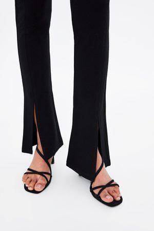 Zara Leggings mit schlitzen