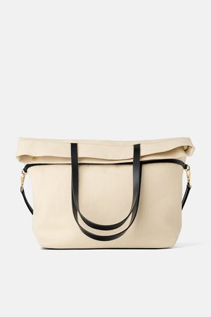 Zara Faltbarer shopper aus stoff