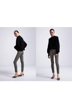 Zara Beschichtete skinny-jeans zw premium in
