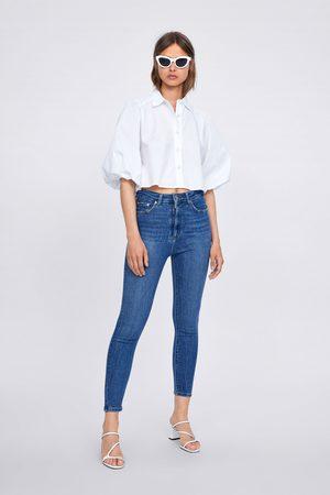 Zara Damen High Waisted - Jeans zw premium '80s high waist