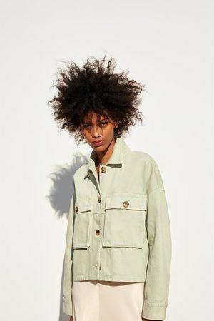 Zara Oberhemd mit taschen