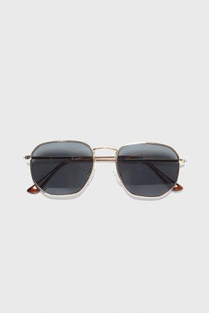 Zara Herren Sonnenbrillen - Sonnenbrille mit geometrischem gestell