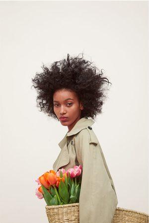 Zara Damen Trenchcoats - Trenchcoat mit doppelreihiger knopfleiste