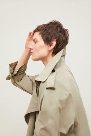 Zara Trenchcoat mit doppelreihiger knopfleiste
