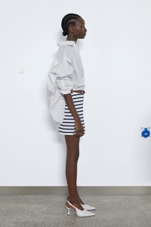 Zara Bermudashorts mit flechtgürtel