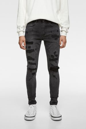 Zara Herren Skinny - Skinny-jeans mit rissen