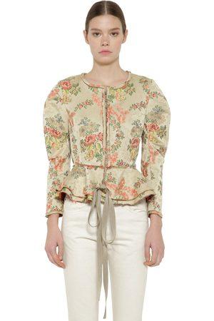 BROCK COLLECTION Floral Jacquard Jacket