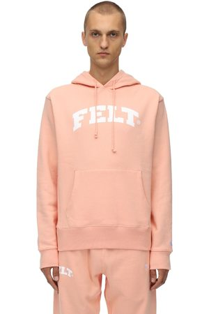 FELT - FOR EVERY LIVING THING Warm Up Cotton Jersey Sweatshirt Hoodie