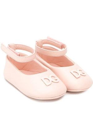 Dolce & Gabbana Baby Ballerinas - Ankle strap ballerina shoes