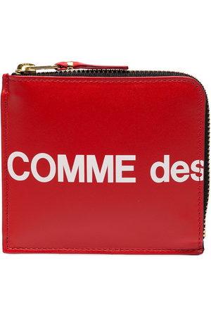 Comme des Garçons Logo printed wallet