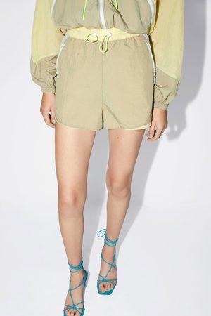 Zara Damen Shorts - Bunte shorts aus nylon
