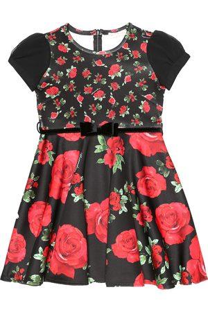 MONNALISA Bedrucktes Kleid aus Twill