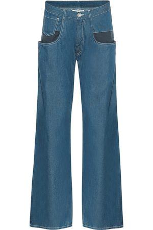 Maison Margiela Mid-Rise Wide-Leg Jeans