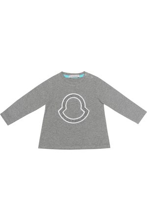 Moncler Baby Pullover aus Baumwoll-Jersey