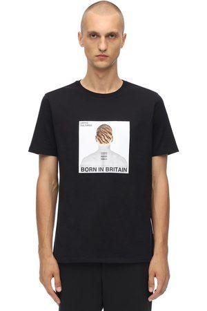 Neil Barrett T-shirt Aus Baumwolljersey Mit Druck