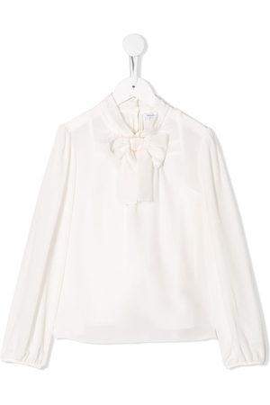 Dolce & Gabbana Mädchen Blusen - Pussy bow blouse