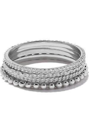 WOUTERS & HENDRIX Damen Ringe - 18kt gold four rings set