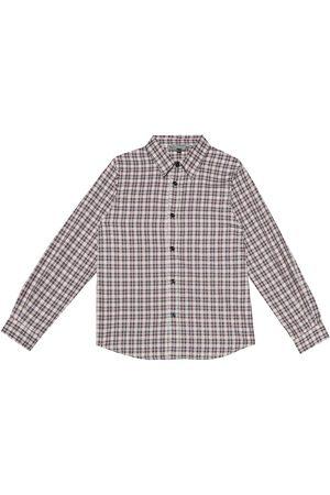 BONPOINT Kariertes Hemd aus Baumwolle