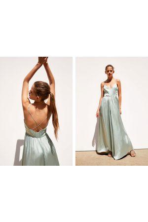 Zara Langer satinierter overall – limited edition