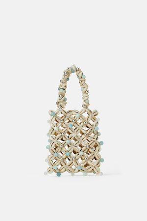 Zara Kleine handtasche mit muscheln