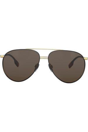 Burberry Eyewear Oversized aviator sunglasses