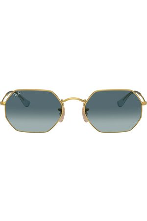 Ray-Ban RB3556N octagonal sunglasses