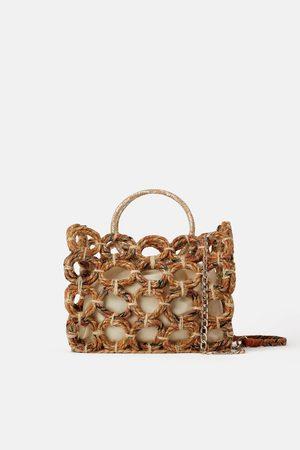 Zara Shopper aus naturstoff
