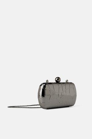 Zara Metallic mit bügelverschluss