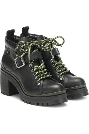 Miu Miu Ankle Boots aus Leder