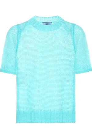 Prada Damen Shirts - Top aus Mohair