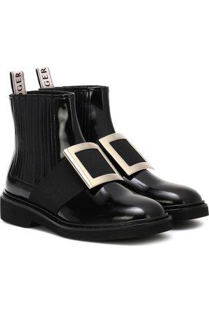 Roger Vivier Ankle Boots Chelsea Viv' aus Leder