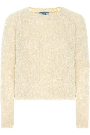 Prada Damen Shirts - Pullover mit Mohairanteil