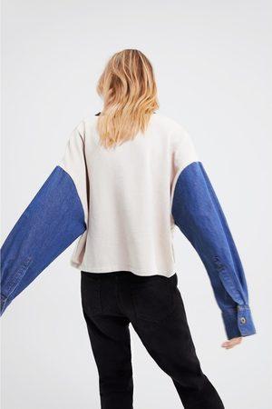 Zara Oversize-sweatshirt