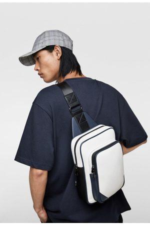 Zara Colour block crossbody bag