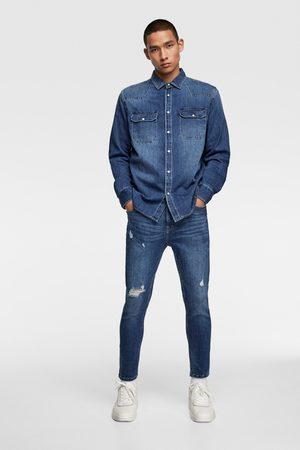 Zara Skinny-jeans cropped