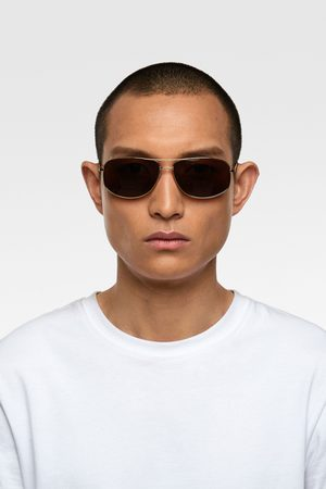 Zara Ovale sonnenbrille