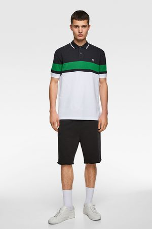 Zara Colourblock-poloshirt