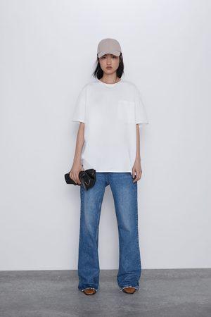 Zara Damen Shirts - Shirt mit tasche