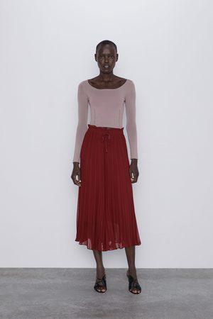 Zara Culotte-hose mit plissée