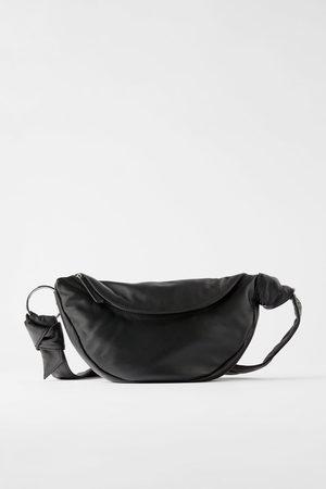 Zara Umhänge- und gürteltasche aus leder