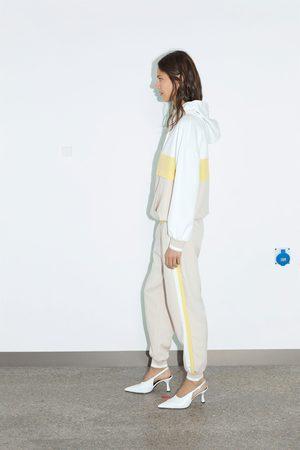 Zara Damen Jogginghosen - Jogginghose mit seitenstreifen