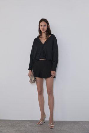 Zara Shorts mit volantsaum