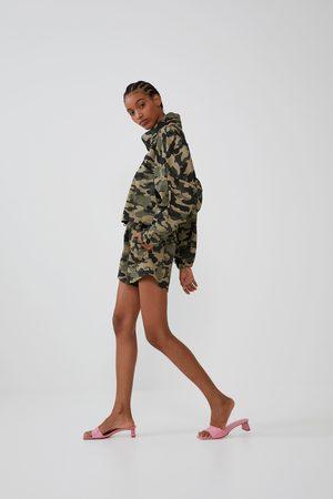 Zara Shorts mit elastischem bund