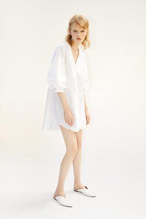 Zara Pantolette mit animalprint
