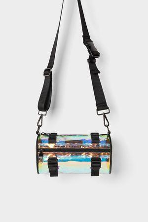 Zara Herren Umhängetaschen - Röhrenförmige umhängetasche aus vinyl