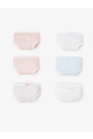 Zara 6er-pack slips mit blumen