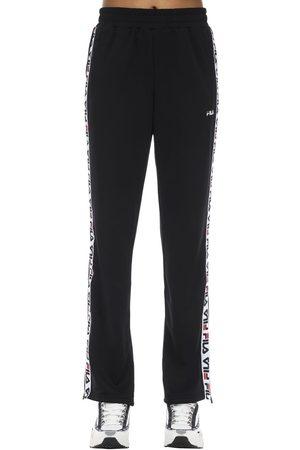 Fila Damen Hosen & Jeans - Logo Tape Nylon Track Pants